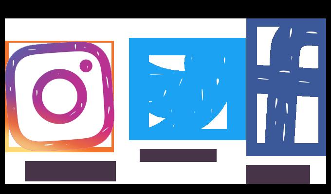 Twitter Facebook Instagram Icon | www.pixshark.com ...